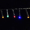 Outdoor Black Wire Christmas Decoration LED String Light