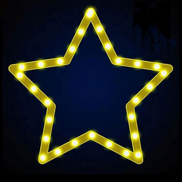 LED Christmas Star Rope Light Motif