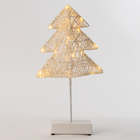 Paper Christmas Tree Table Light