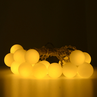 March Underwater Snow Ball String Light