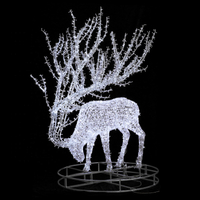 Holiday Light LED Christmas 3D Deer Motif Light