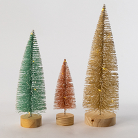 Macaron Color Christmas Tree Light Asst