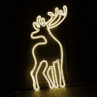 Evermore 2D Neon Light With Deer Modeling