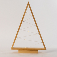 Wooden Frame with Fairy Light Table Light