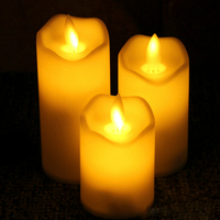 Rechargeable Wedding Home Decoration China Candle LED Cotive Tea Light LED Candle Light
