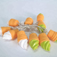 Evermore Ice Cream Cone LED String Light for Summer Party Decoration