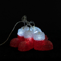 Acrylic snow boot light chain