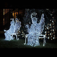 Outdoor Christmas Street Light Decoration Beautiful Led Motif Light